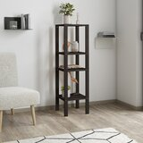 Bagdai 47.2'' H x 13.8'' W Solid Wood Etagere Bookcase by Red Barrel Studio®