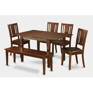 Alcott Hill Lorelai 6 Piece Dining Set