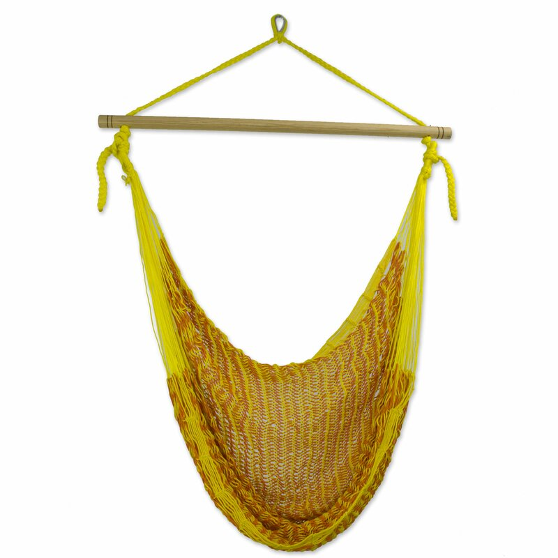 Gorgeous Cotton Chair Hammock By Novica