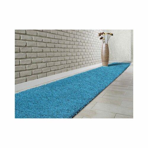 Equinox Tufted Light Blue Rug Ebern Designs Rug Size: Runner