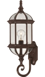 Online Reviews Vannest 1-Light Outdoor Sconce By Charlton Home