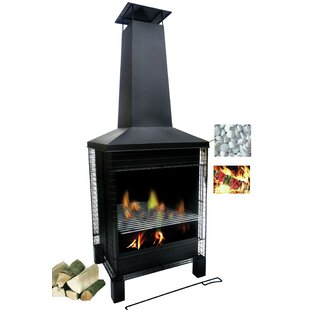 Hannover Steel Wood Burning Chiminea By Sol 72 Outdoor