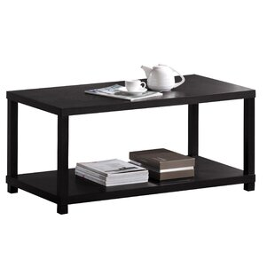 Doukala Bottom Shelf Wooden Coffee Table by Winston Porter
