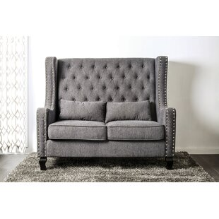 Check Prices Huntsberry Loveseat by Mercer41 Reviews (2019) & Buyer's Guide