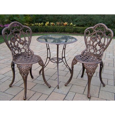 Wendling 3 Piece Bistro Set by August Grove Looking for