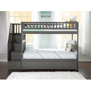 Westbrook Staircase Bunk Twin over Twin Bed With Trundle