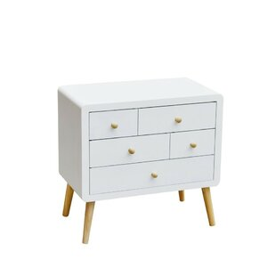 Thorin 5 Drawer Chest By Mikado Living