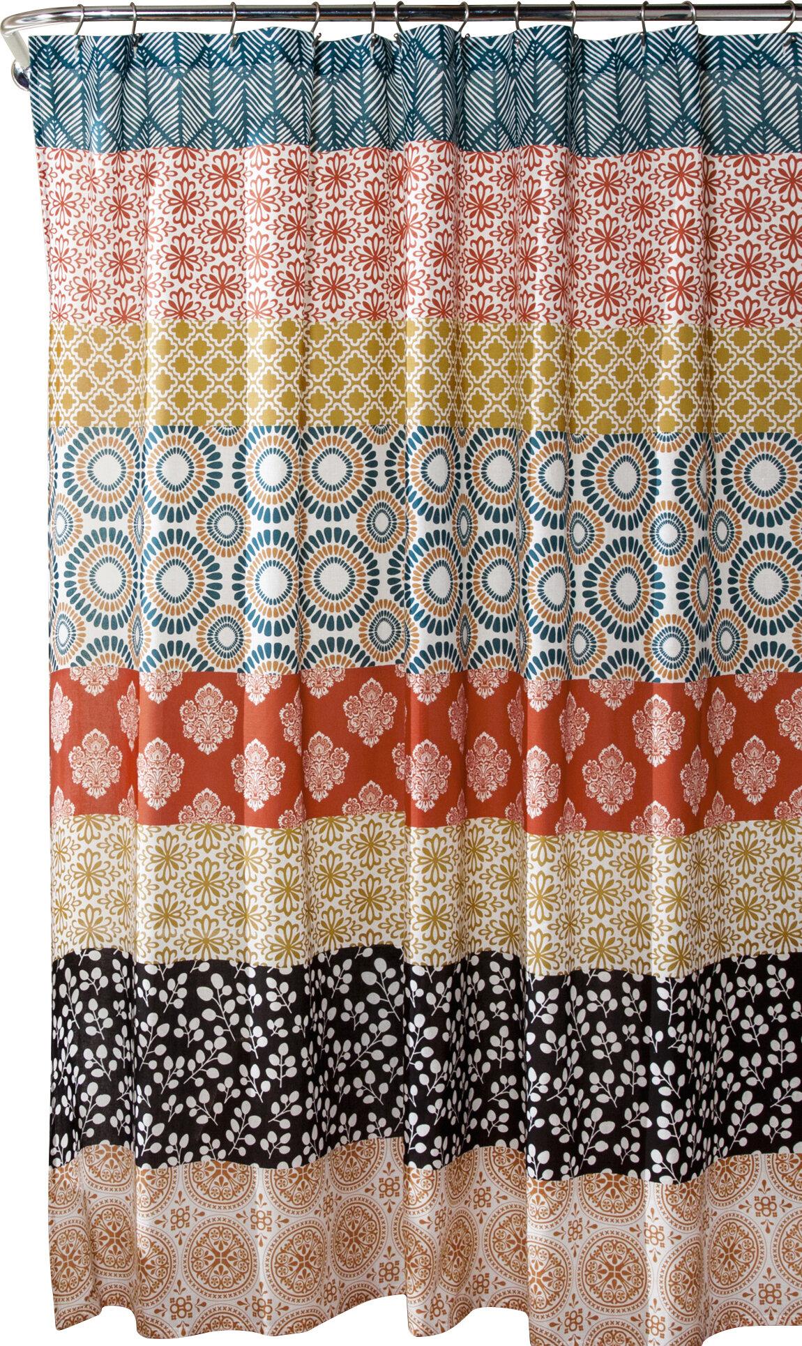 World Menagerie Vincent Stripe Shower Curtain Reviews