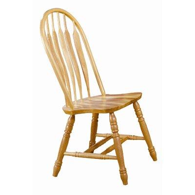 Jaida Comfort Back Dining Chair August Grove Color: Rich Honey Light Oak