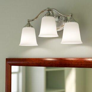 Best Price Morton 3-Light Vanity Light ByCharlton Home