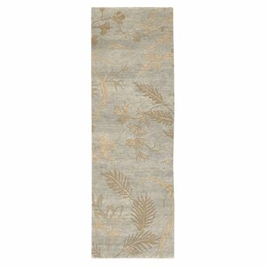 Howland Green Floral Area Rug
