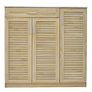 30 Pair Shoe Storage Cabinet By Ebern Designs