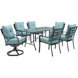 Bozarth 7 Piece Dining Set with Cushions