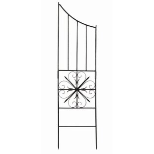 ACHLA Aldrich Iron Gothic Trellis Side Panel