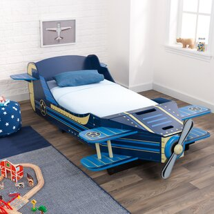 Airplane Toddler Car Bed