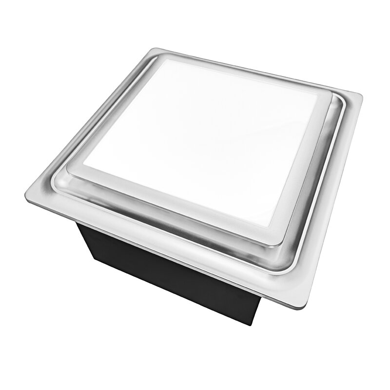 Aero Pure 110 CFM Energy Star Bathroom Fan with Light and ...