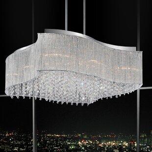 Price comparison Elsa 12-Light Chandelier By CWI Lighting