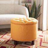 Tremendous Peach Storage Ottoman Wayfair Uwap Interior Chair Design Uwaporg