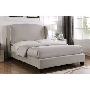 Crimmins Double (4'6) Upholstered Bed Frame With Mattress By Ophelia & Co.