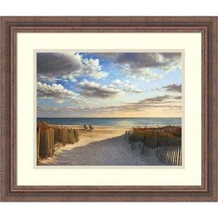 U0027Sunset Beachu0027 By Daniel Pollera Framed Photographic Print