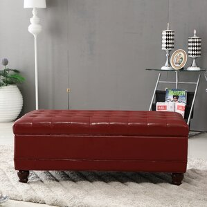 Elegant Storage Ottoman by Bellasario Collec..