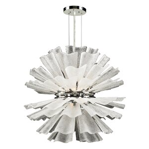 Enigma 12-Light Sputnik Chandelier