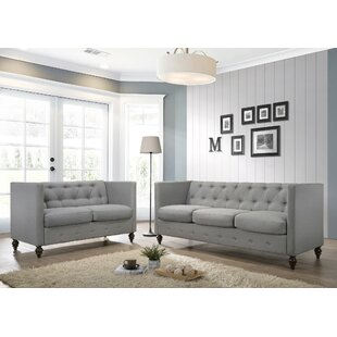 Norborne 2 Piece Configurable Living Room Set by House of Hampton