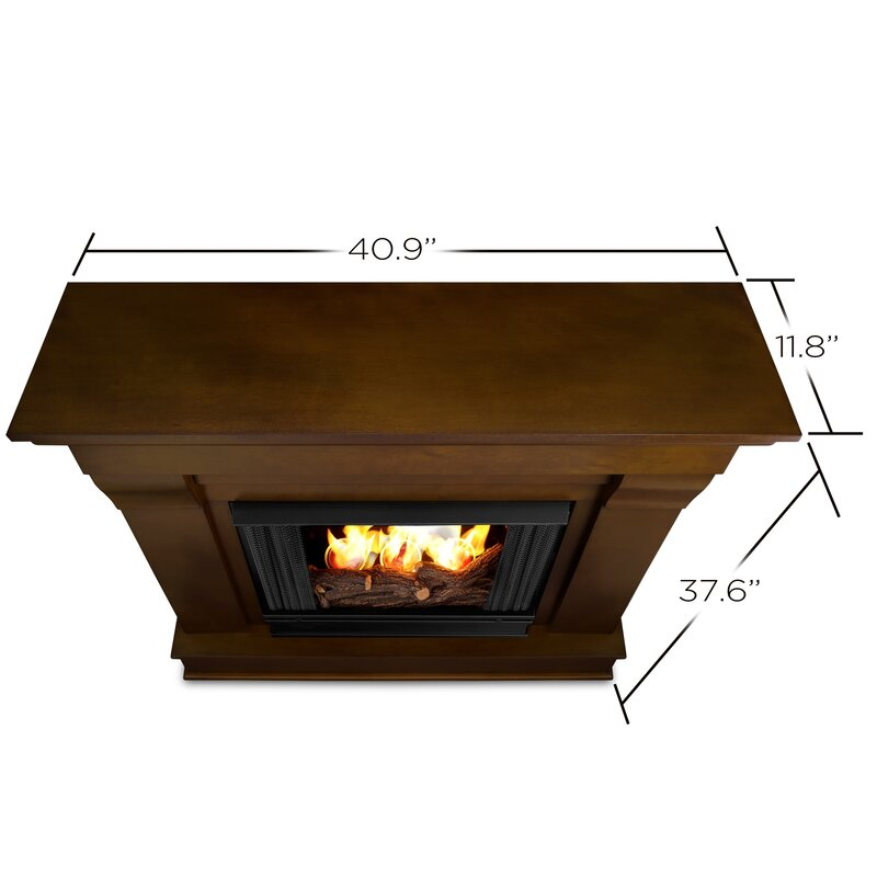 Real Flame Chateau Gel Fuel Fireplace & Reviews | Wayfair