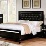 Scriven Solid Wood and Upholstered Bed by Canora Grey
