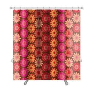 Kilo Crochet Floral Pattern Premium Shower Curtain