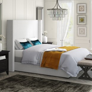 Hansen Upholstered Panel Bed by Brayden Studio