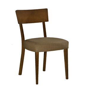 George Oliver Crompton Solid Wood Dining Chair (Set of 2)