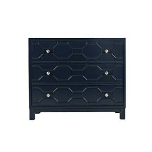 Parlington 3 Drawer Accent Chest by Everly Quinn