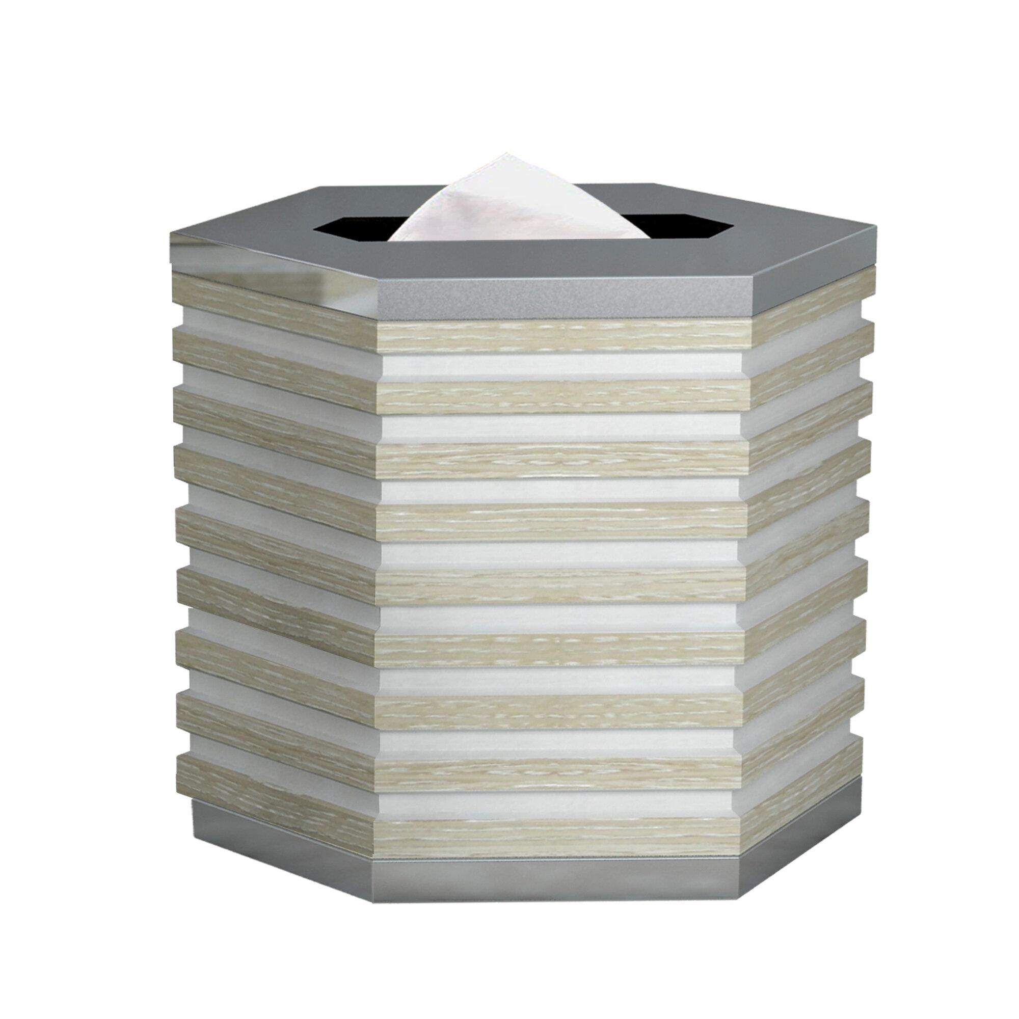 Ebern Designs Coldiron Tissue Box Cover Wayfair