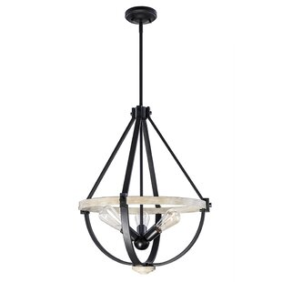 Caswell 3-Light Empire Chandelier by Williston Forge