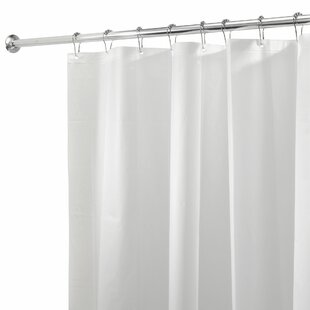 Mildew Free PEVA 3 Gauge Single Shower Curtain Liner