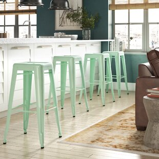 Halie Steel Barstool (Set of 4) Trent Austin Design