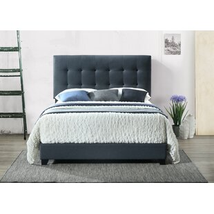 Seese Upholstered Panel Bed by Charlton Home