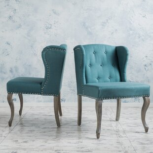 Lark Manor Soan Wing back Chair (Set of 2)