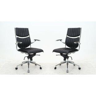 Brayden Studio Hennis Executive Chair (Se..