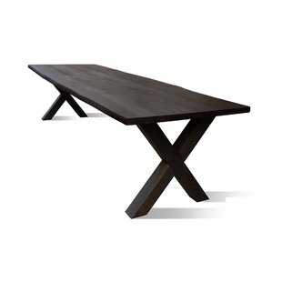 Glynis Solid Wood Dining Table by Gracie Oaks Find