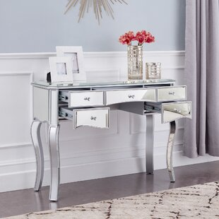 Moyne Mirrored Writing Desk