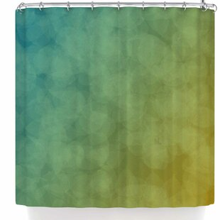 Nl Designs Bokeh Single Shower Curtain