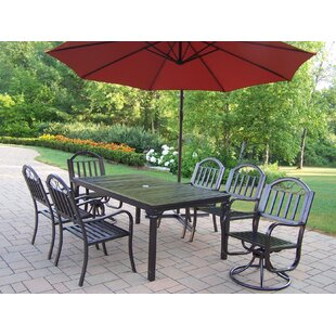 Lisabeth Traditional 7 Piece Dining Set
