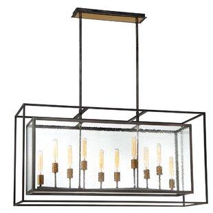 Gracie Oaks Fechteler 10-Light Kitchen Is..