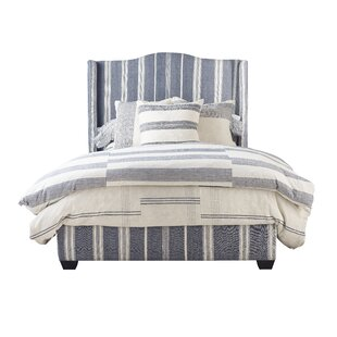 Emerson Queen Upholstered Panel Bed by Imagine Home