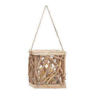 Woodland Imports Wooden Lantern