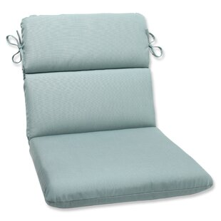 Pillow Perfect Canvas Indoor/Outdoor Sunbrella Lounge Chair Cushion