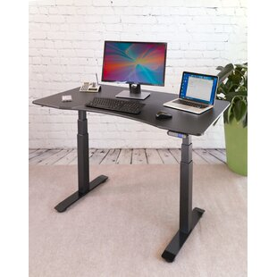 Look for Airlift®  S3 Electric Height-Adjustable Standing Desk BySeville Classics