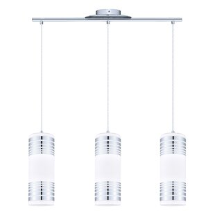 Great Price Robby 3-Light Kitchen Island Pendant By Orren Ellis